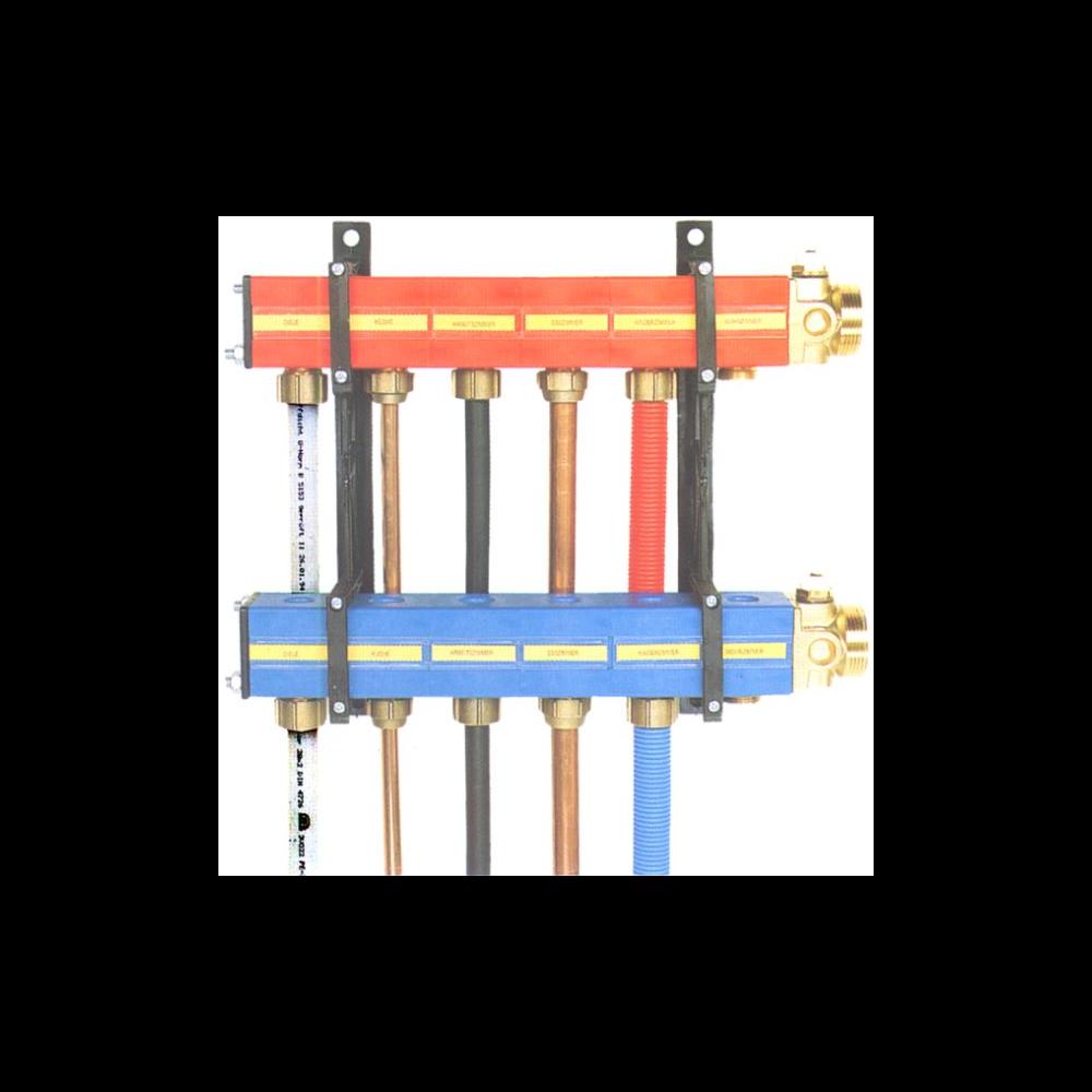 SBK-HKV 2000 Rücklaufsegment # 6.013.039 blau Heizkreisverteiler